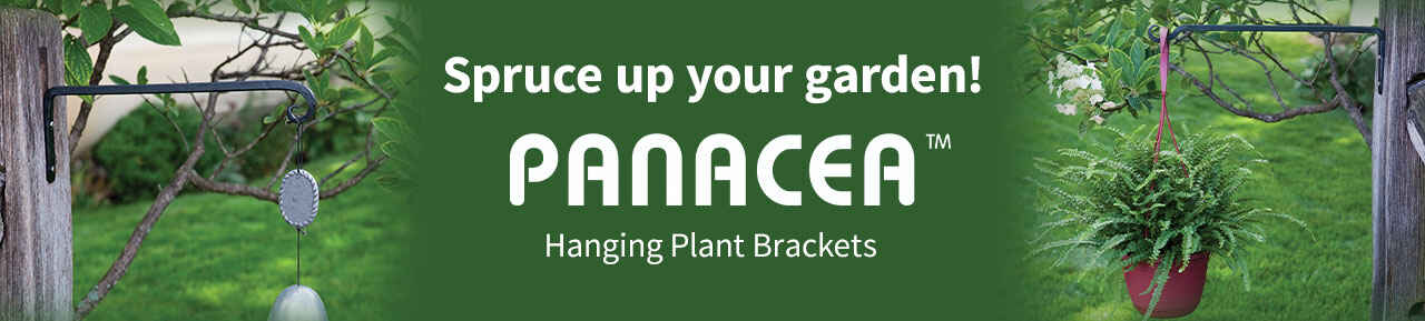 Panacea hanging plant brackets