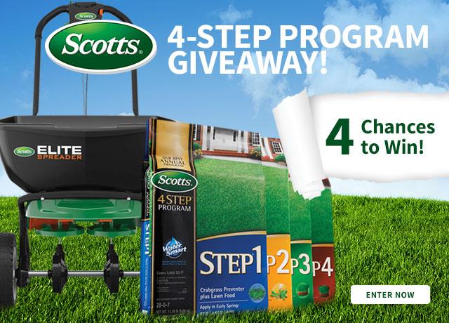 Scotts 4-Step Program Giveaway!