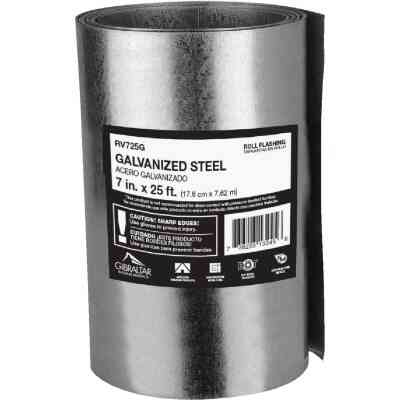 NorWesco 7 In. x 25 Ft. Mill Galvanized Roll Valley Flashing