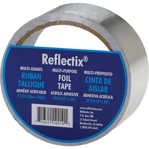 Reflectix 2 In. x 30 Ft. Foil Tape Reflective Insulation