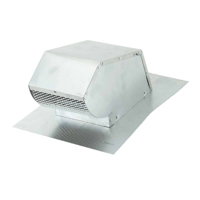 Lambro 4 In. Aluminum Roof Vent Cap with Damper