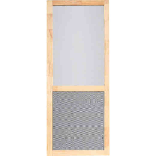 Screen Tight Century Pet Guard 32 In. W Natural Wood Screen Door