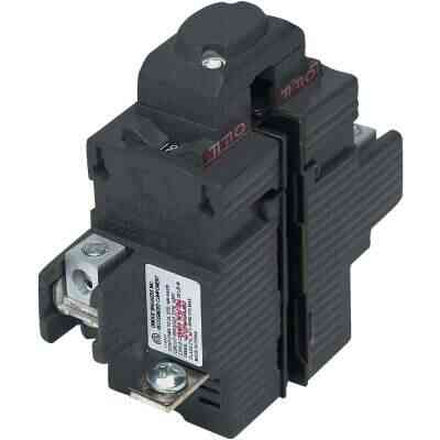 Connecticut Electric 40A Double-Pole Standard Trip Packaged Replacement Circuit Breaker For Pushmatic