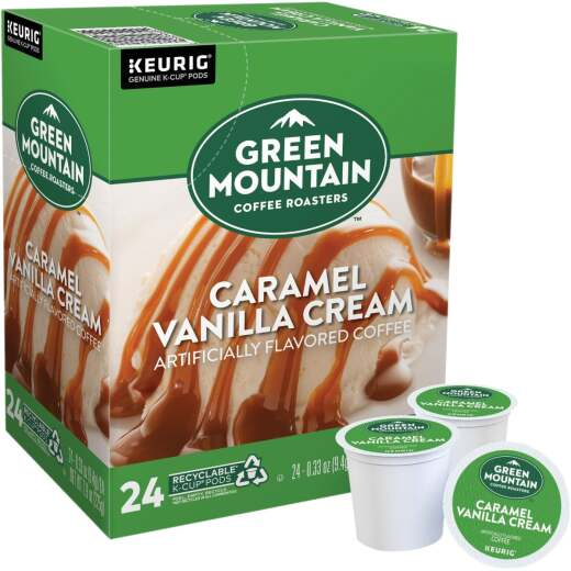Keurig Green Mountain Coffee Roasters Caramel Vanilla Cream K-Cup (24-Pack)