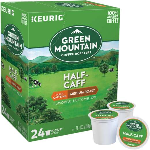 Keurig Green Mountain Coffee Roasters Half-Caff K-Cup (24-Pack)