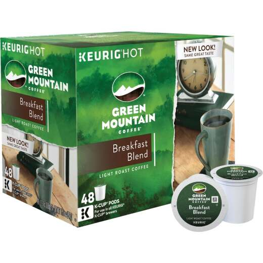 Keurig Green Mountain Breakfast Blend Coffee K-Cup (48-Pack)