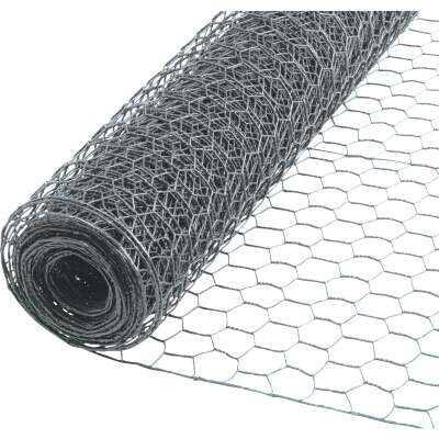 1/2 In. x 36 In. H. x 10 Ft. L. Hexagonal Wire Poultry Netting